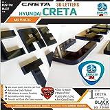 CRETA 3D Letters for Hyundai Creta - BLACK
