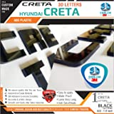 Carmetics Creta 3D Letters For Hyundai Creta - Black