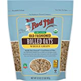 Bob's Red Mill Organic Old Fashioned Rolled Oats, 32-ounce ( Pack - 1 )