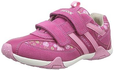 a0c9da0276 Geox Jr Tale B, Girls' Low-Top Sneakers, Pink (FUCHSIA/PINKC8230), 7 ...