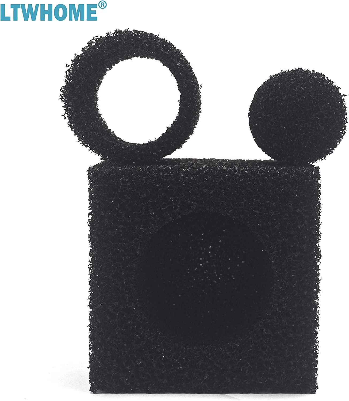 15cm Coarse Pond Filter Foam Cube Block Pump Pre Filter Sponge LTWHOME 6-Inch Pack of 1
