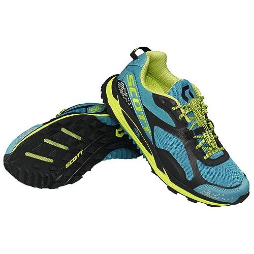 Scott - Zapatillas de running de tejidos naturales y sintéticos para mujer azul azul: Amazon.es: Zapatos y complementos