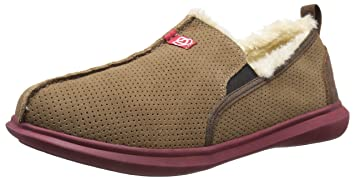 dafb84ef804 Image Unavailable. Image not available for. Colour  Spenco Supreme Slipper  - Men s - bison suede sherling ...