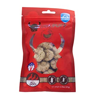 yakyPUFF Himalayan Cheese Treats | Lactose free | Gluten Free | Grain free | Made in USA | For All Breeds | Chicken Flavor