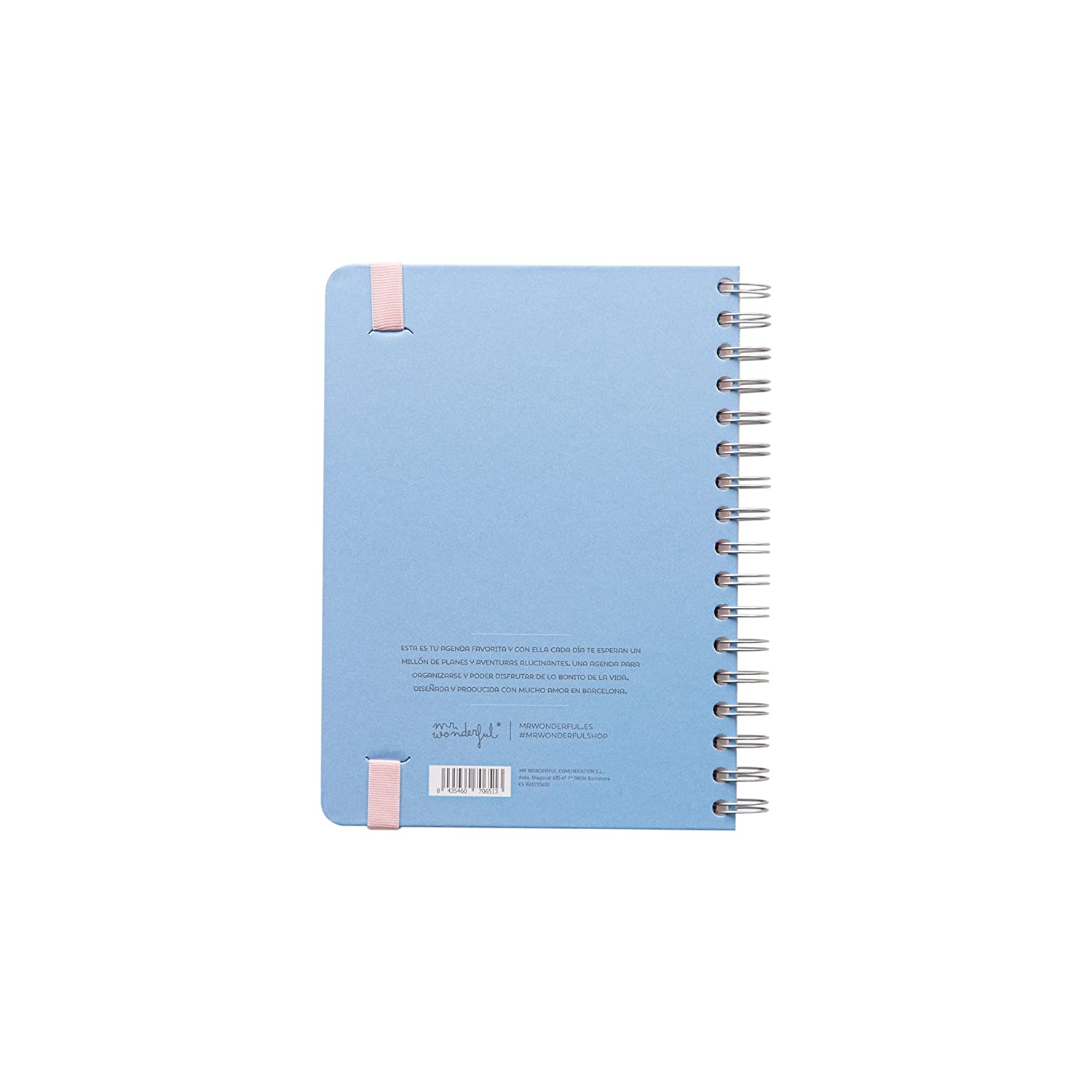 Agenda Mr. Wonderfull por solo 16,95€