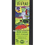 Vivani Rice Choch 40% Kakao, 10er Pack (10 x 100 g)