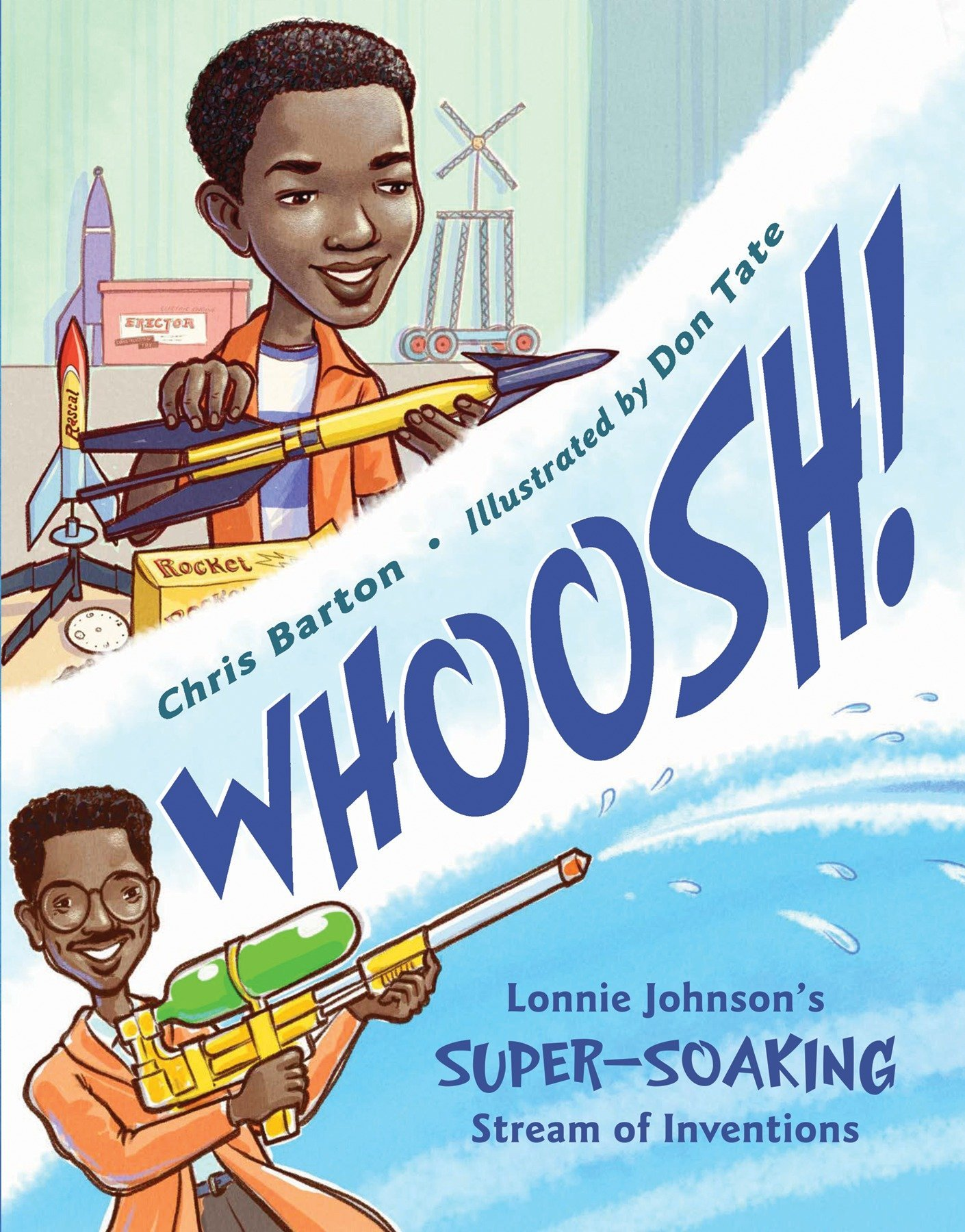 Whoosh!: Lonnie Johnson's Super-Soaking Stream of Inventions by Charlesbridge (Image #1)