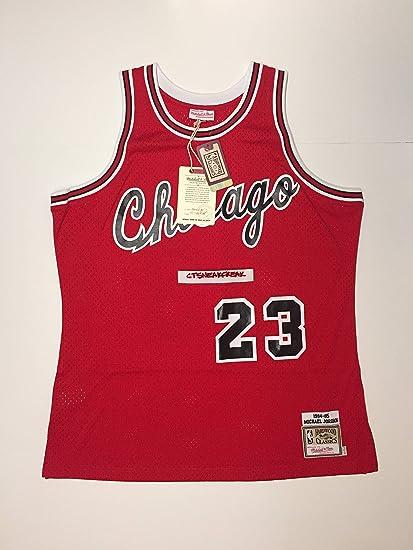 pretty nice 0c9d5 83e74 Amazon.com : Mitchell & Ness Michael Jordan 84-85 Chicago ...