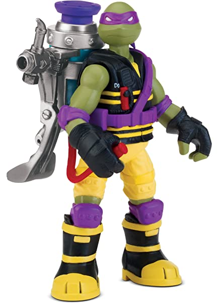Teenage Mutant Ninja Turtles - Muñeco de Donatello con ...
