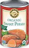 Farmer's Market Foods Canned Organic Sweet Potato Puree, 15 Ounce (Pack of 12)