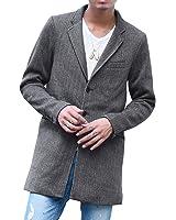 ジョーカーセレクト(JOKER Select) チェスターコート メンズ コート ジャケット ニット フリース