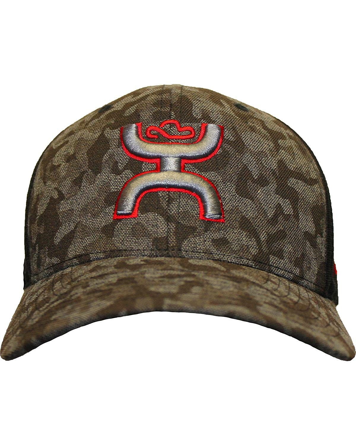 dc71510ac1401 HOOey Men s Camo Chris Kyle Memorial Flexfit Hat Camouflage S M ...