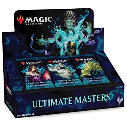 Magic: The Gathering Ultimate Masters Booster Box | 24 Booster Packs (360 Cards) | 1 Special Box-Topper Card