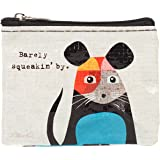 Blue Q Barely Squeakin' By Recycled Coin Purse