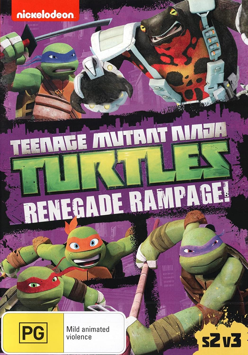 Teenage Mutant Ninja Turtles: Renegade Rampage! Edizione ...