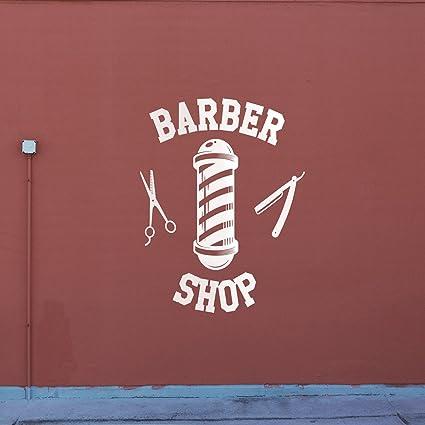 Amazon.com: Vinyl Wall Art Decal - Barber Shop Sign - 30\
