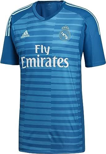 adidas 18/19 Real Madrid Away Shortsleeve Camiseta de Portero Hombre: Amazon.es: Deportes y aire libre