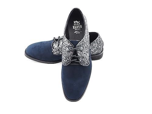 Seira Elves - Mocasines de Otra Piel para mujer azul azul marino, color azul, talla 39: Amazon.es: Zapatos y complementos