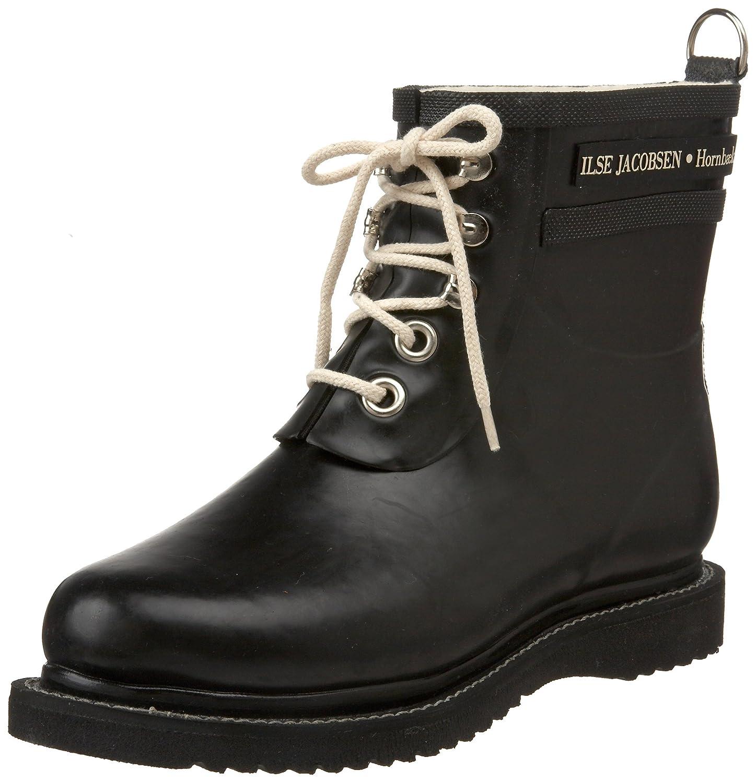 ILSE JACOBSEN Women's Rub 2 Rain Boot B006B0IFNC 38 M EU / 8 B(M) US|Black