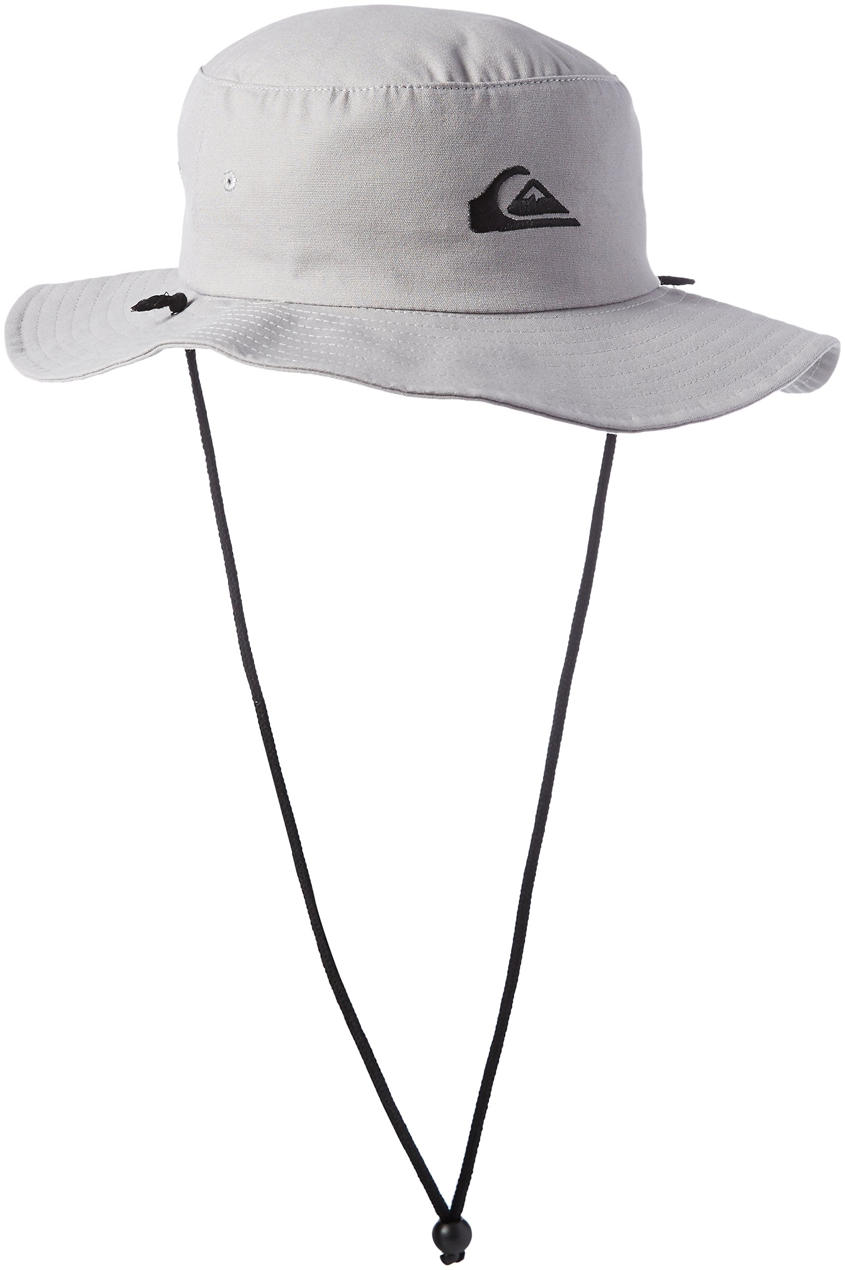 Quiksilver Men's Bushmaster Floppy Sun Beach Hat, Steeple Grey, Large/X-Large
