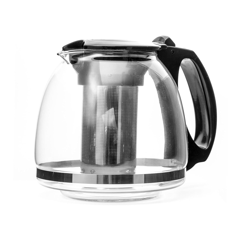 Tetera de 1.25 litros con filtro de acero inoxidable