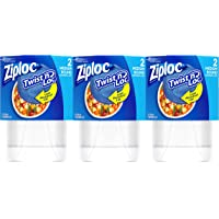 Ziploc Twist n Loc Medium Container (6-Ct.)