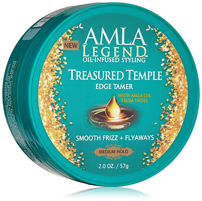 Amla Legend Oil-Infused Styling Treasured Temple Edge Tamer