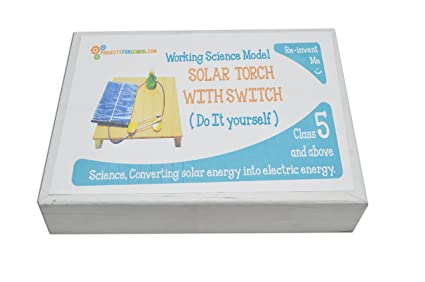 Buy solar torch and switch science projects working models diy solar torch and switch science projects working models diy science experiment kitworking model solutioingenieria Images