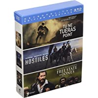 Coffret aventure 3 films : tu ne tueras point ; hostiles ; free states of jones