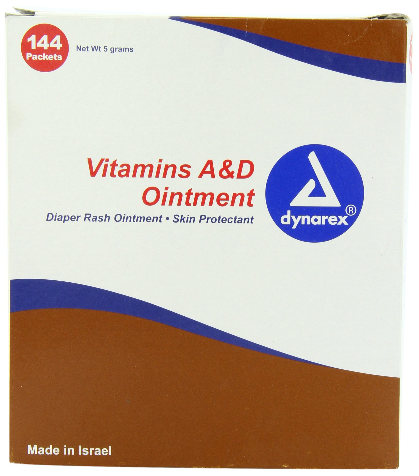 Dynarex Vitamin A & D Ointment Unit Packets 144/box by Dynarex