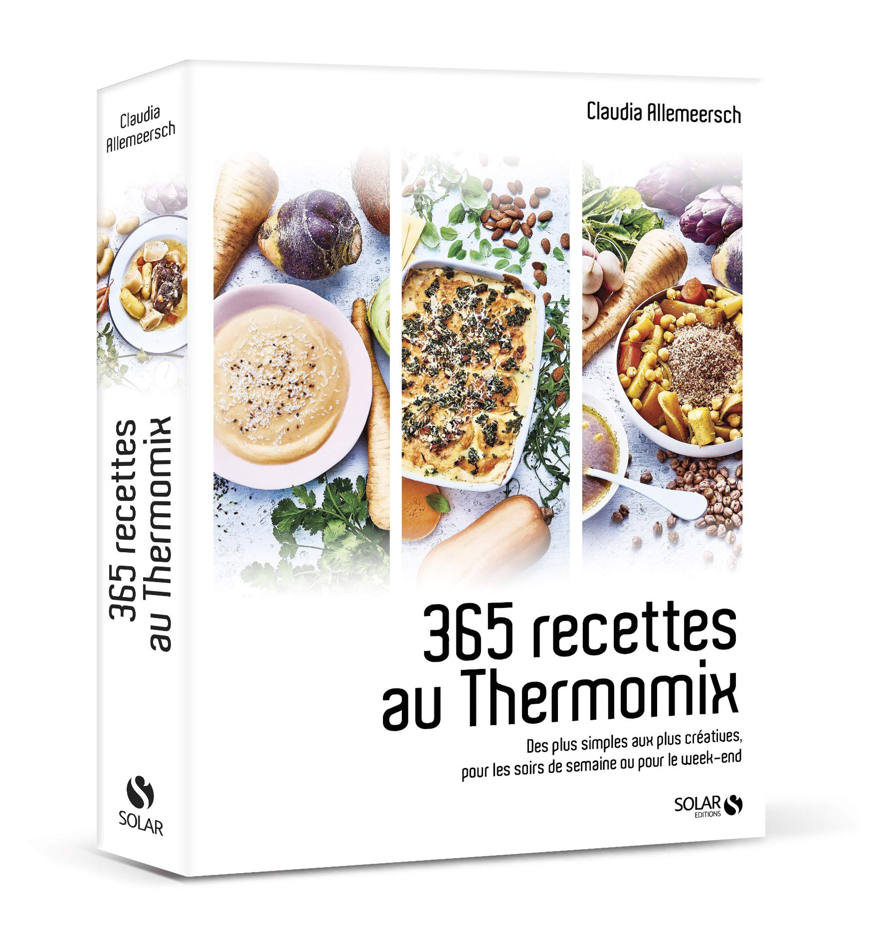 Amazon Fr 365 Recettes Au Thermomix Des Plus Simples Aux