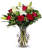 Benchmark Bouquets Pink Elegance, With Vase