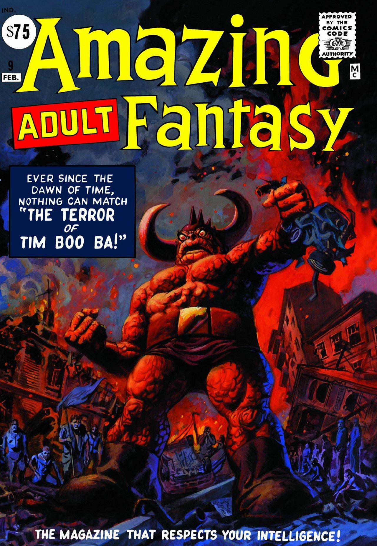 Download Amazing Fantasy (Adult) Omnibus HC Brereton Variant pdf epub
