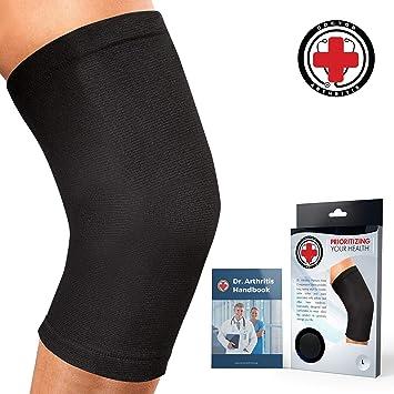 11d3cb3512 Doctor Developed Knee Brace/Knee Support/Knee Compression Sleeve [Single] &  Doctor