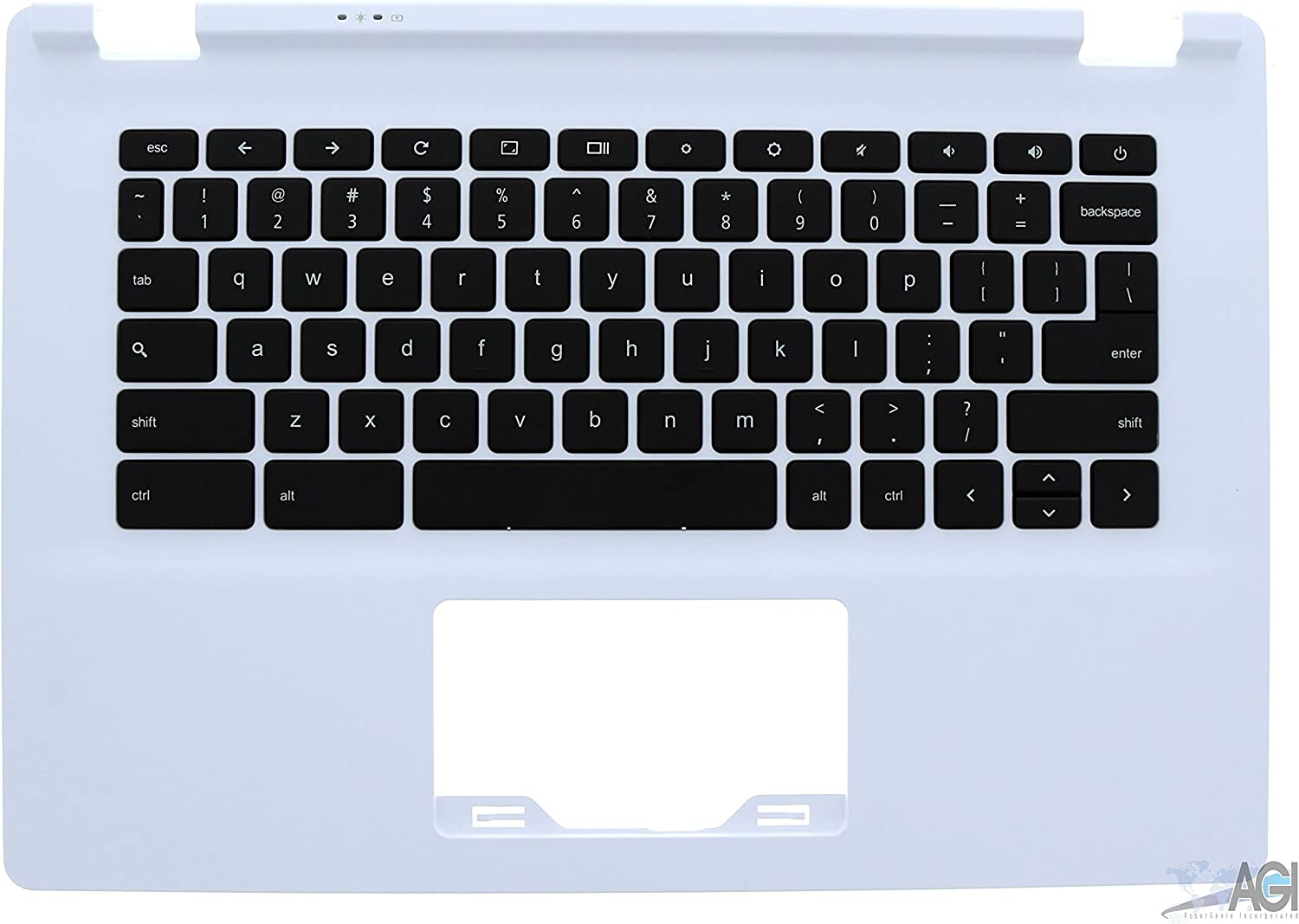 White Palmrest and Keyboard 60.MPRN2.001 Compatible with Acer CB5-311 Chromebook