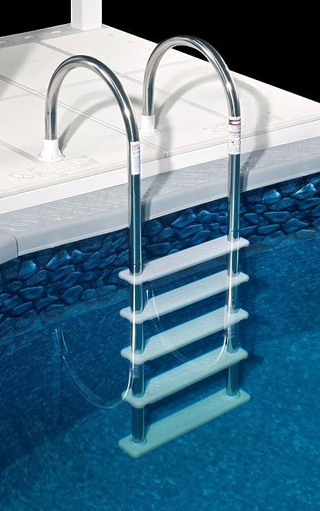 Amazon.com: Blue Wave NE122SS - Escalera de acero inoxidable ...