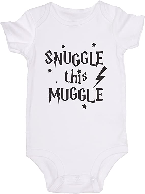 JoviGear Snuggle This Muggle/Harry Potter Cute Baby Onesie