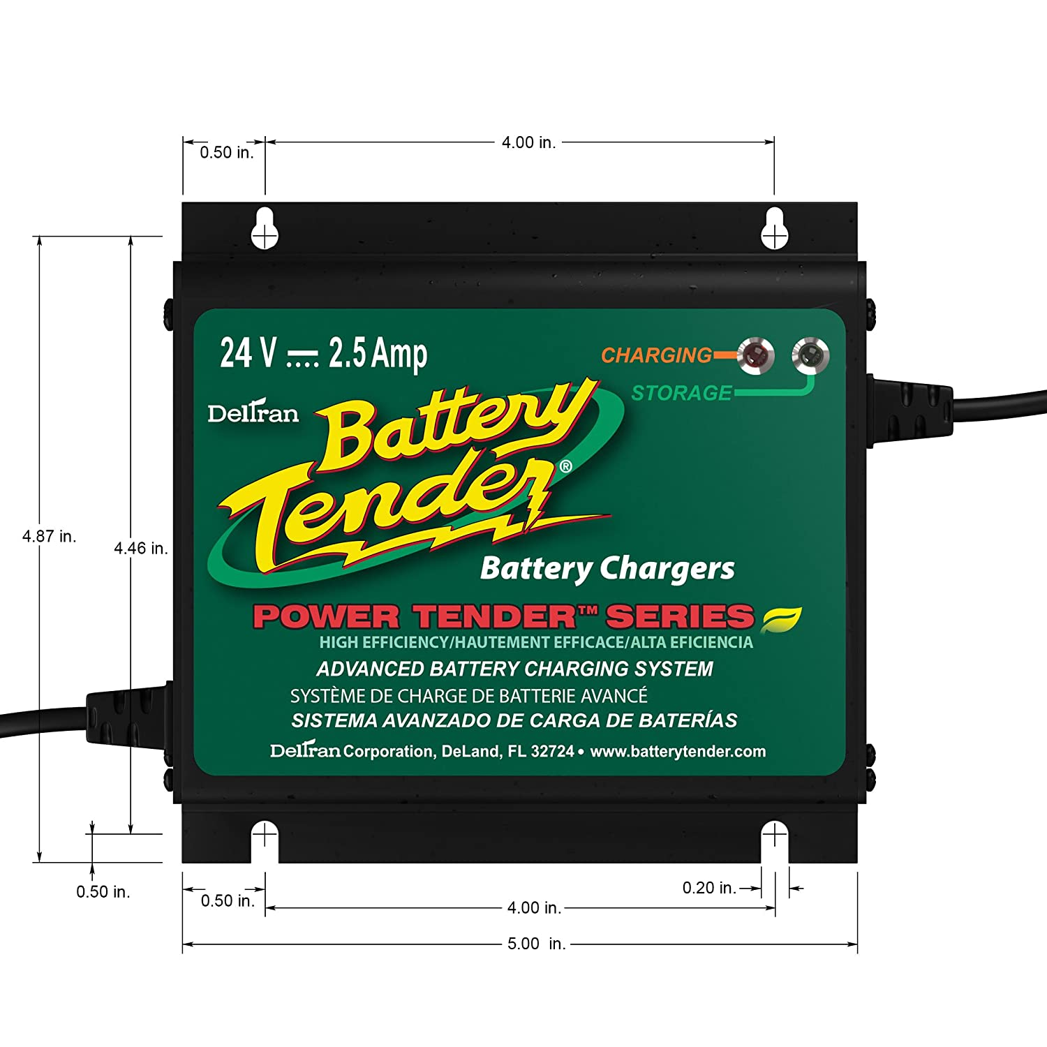 Battery Tender 022 0158 1 Waterproof 24 Volt Power Club Car Wiring Diagram 98 Dx Plus Charger Automotive