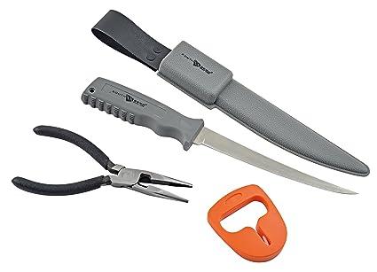 Amazon.com: South Bend Combo Pack con filete cuchillo y ...