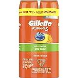 Gillette Fusion Ultra Sensitive Hydra Gel Men's Shave Gel Twin Pack, 14 Oz, 2 Pack