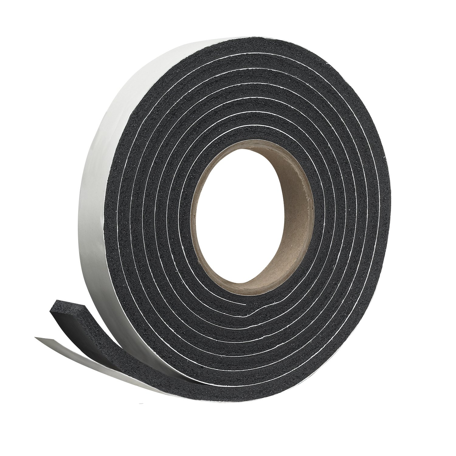 Frost King Sponge Rubber Foam Tape - Minimum Compression, 1'' W, 5/16'' T, 10' L, Black