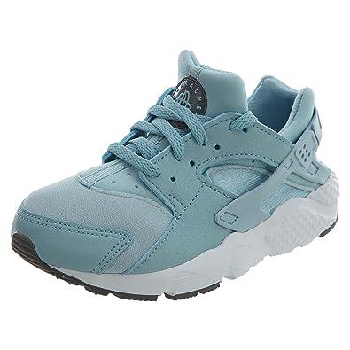 8c60a15fb250 NIKE Huarache Run Pre School Running Sneakers Ocean Bliss Cool Grey White  704951-