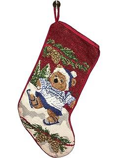 personalized needlepoint christmas stocking 8 designs custom gifts 17 angel - Personalized Needlepoint Christmas Stockings