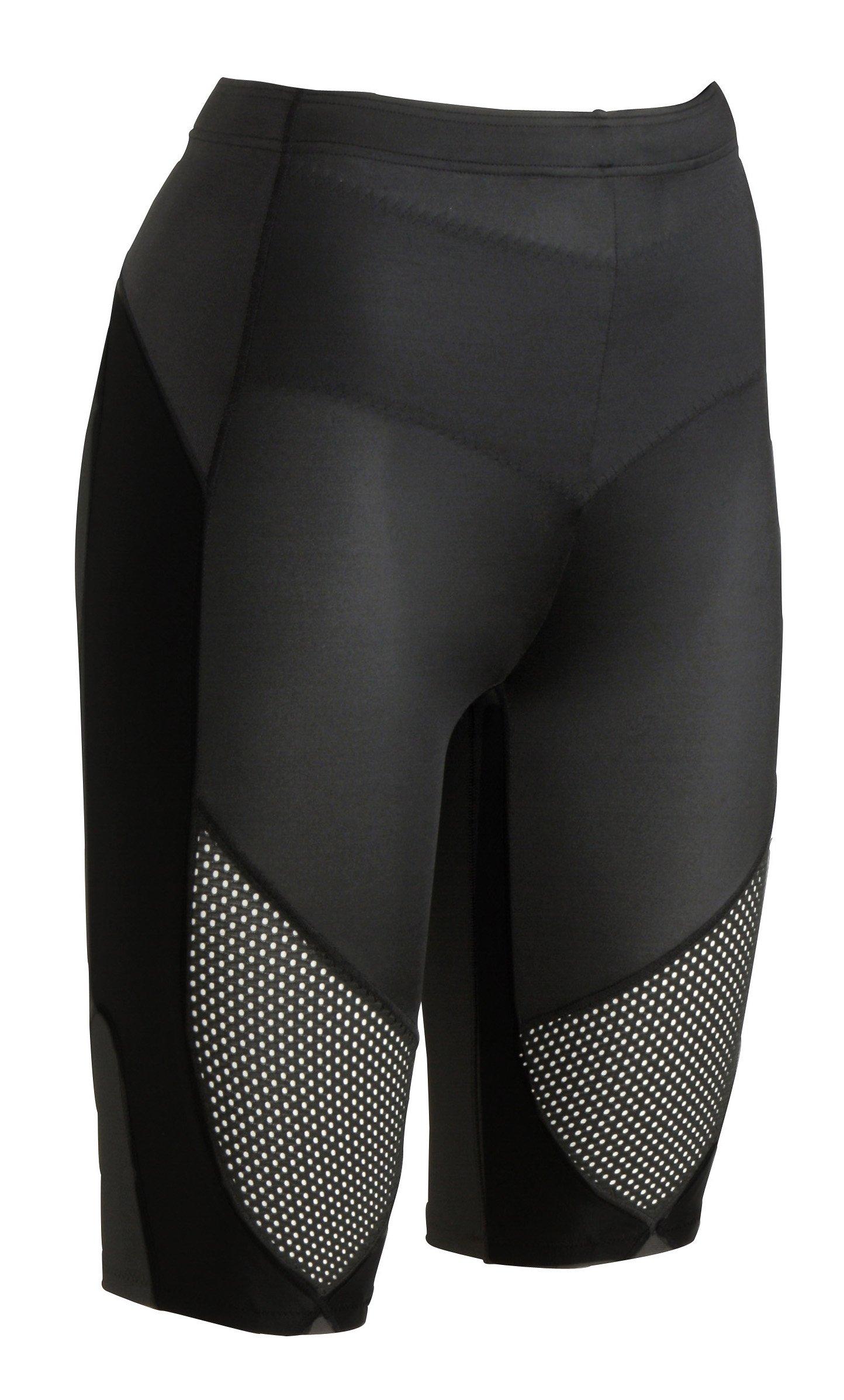 CW-X Women's Stabilyx Ventilator Shorts (Black, X-Small) by CW-X (Image #1)