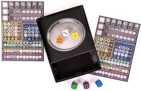 Schmidt Spiele CSG Ganz Schon Clever Game Dados, Reglas inglesas ...