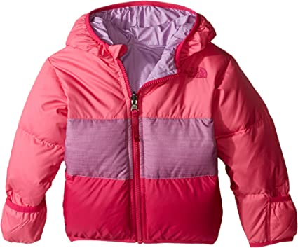 The North Face Kids Unisex Reversible Moondoggy Jacket (Infant) Cha Cha Pink  (Prior 420e5c2ea