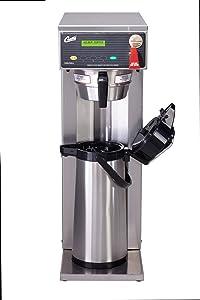 Wilbur Curtis G3 Airpot Brewer 2.2L To 2.5L Single/Tall Airpot/Gravity, Dual Voltage - Commercial Airpot Coffee Brewer- D500GTH63A000 (Each)