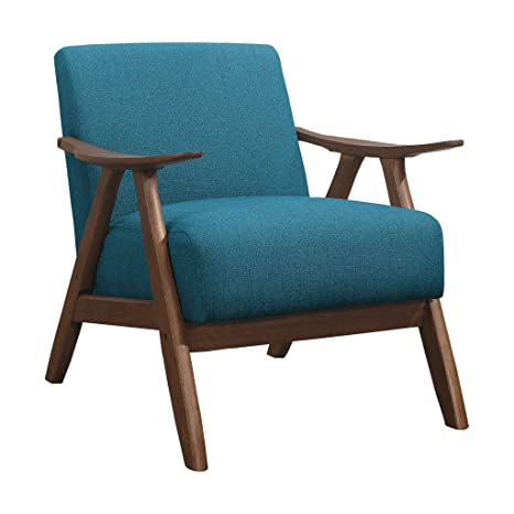 Awesome Lexicon Fabric Accent Chair Blue Machost Co Dining Chair Design Ideas Machostcouk