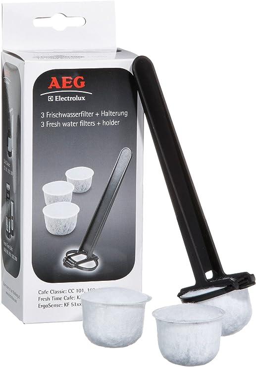 AEG FWF 02 - Filtros de agua con soporte para cafeteras eléctricas ...