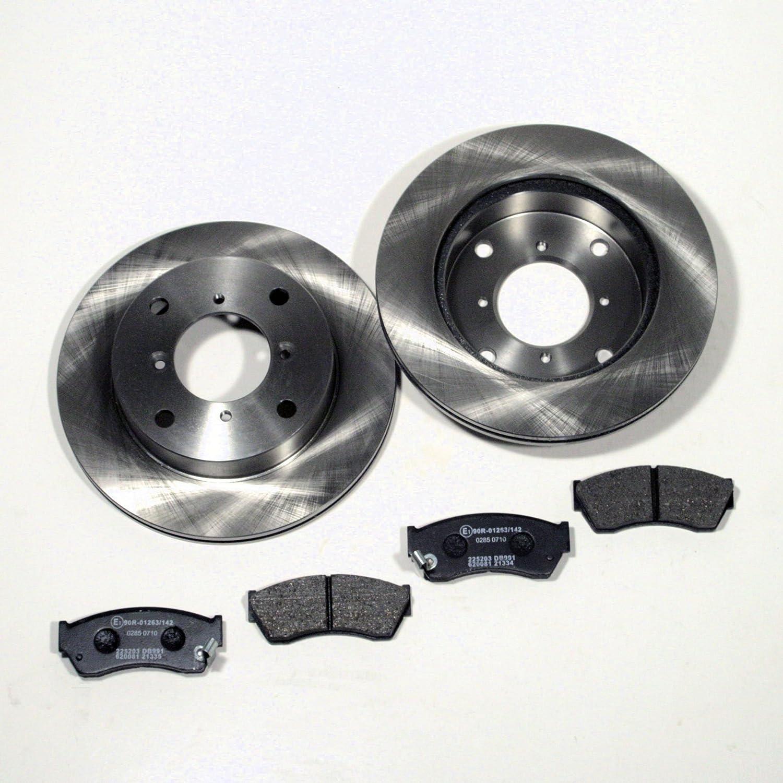 Bremsscheiben Ø 231 mm/Bremsen + Bremsbeläge vorne Autoparts-Online